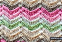 Crochet and knittng stitches