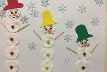 Cotton pads craft and art ideas