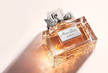 """❥ Eau De Parfum / """"Perfume is the indispensable compliment to the personality of a women, the finishing touch on a dress"""" Christian Dior"""