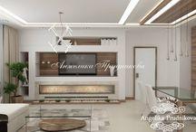 Дизайн-проект квартиры в стиле модерн в Стромынском переулке / Интересный дизайн для квартиры в Стромынском переулке разработан Анжеликой Прудниковой. Благодаря стилю модерн в проект интерьера помещений совмещает в себе не только красоту и уют, но функциональность и комфорт. Светлые цвета заметно увеличивают пространство дома.  Подобранные элементы декора делают квартиру более элегантной.