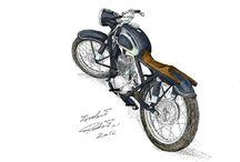 motart / SHL M11 bobber ratstyle custom
