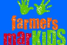 Farmer MarKIDS /  Teach children about the business of food by involving them in every aspect of creating a business to sell their home or school garden produce with our free downloadable toolkit.
