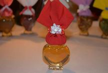 Cadouri dulci de martisor / Miere naturală pusa in valoare in borcane decorate manual