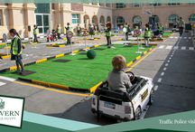 Police Traffic Visit at MCE / Students enjoyed a visit from the Cairo Traffic Police. They had a talk on road safety but the highlight of the day for the children had to be when they were let loose to drive mini cars on our blue basketball court which had been transformed into a series of roads, pathways and junctions. The day provided the children with some very valuable life skills on how to stay safe, both as passengers and pedestrians, and their enthusiasm was clear to see.