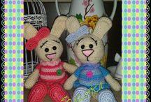 Bazsoka horgolmanyai/Bazsoka crochet