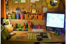 Kid's work spaces @ Home