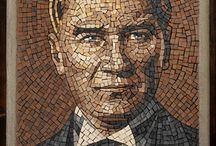 cam mozaik bayıldım ATAM ❤❤❤
