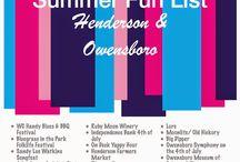 {HerKentucky} Summer Fun Lists / Summer Fun Lists for Kentucky cities, as curated by HerKentucky writers. / by HerKentucky