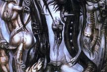 H.R Giger artwork