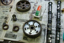 P.S.I Tuning parts CRX 1985 ZC / The Japanese name is CR-X  Parts for 1,610cc DOHC ZC engines
