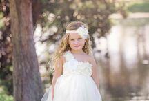 Olive Flower Girl Dresses / by Monica Murphy