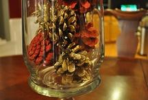 Christmas Cheer!!! / Looking for decorations that won't break Santa's bank!!! / by Denesha Williams