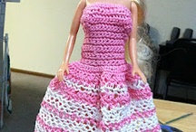 Crochet - Doll clothes / by Laura Hubbell