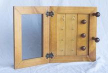 Jewellery Organisers / Store and organise jewellery and fashion accessories with these handmade wooden jewellery organisers.