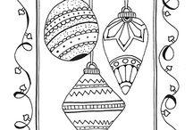 Transzfer karácsony / Karácsonyi transzfer minták