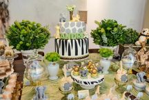 Animal jungle baby shower ideas