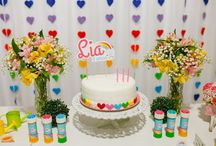 Festa Arco íris - Rainbow party ideas