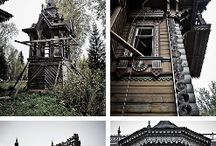 Abandoned Places / I don't know what it is about places that once were full of life but are now empty, quiet, and decayed... I love #abandoned places!
