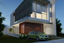 contemporary office facades