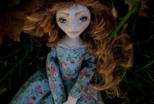 Stephanie / Handmade ooak doll by Romantic Wonders