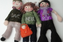 fabulous felt / some of red cat handmade's special makes