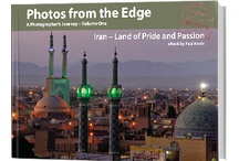 eBooks / A photographers account of his journey in Iran. Stunningly designed and photographed, it's 86 pages  carry near 100 photographs (all with metadata, 30 of them full page colour plates. It contains experiences of the journey  relating directly to them, and describes the aspects, both practical and technical in making the photographs. From the Caspian Sea to the Persian Gulf, a thoughtful expose of the Iranian people and their country.