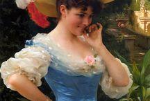 Kitsch 19th century historical art