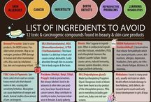 Toxic foods and products / by Kathie Warren