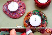 porta espelmes