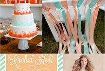 Mint Green & Coral Inspiration