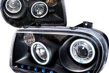 Chrysler Headlights / Chrysler 300 Aftermarket Headlights by Auto Light Pros at http://www.autolightpros.com/chrysler-300-headlights.html