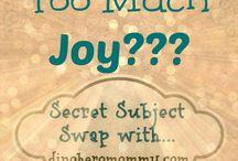 #SecretSubjectSwap / Blog posts featuring the Secret Subject Swaps, hosted by www.bakinginatornado.com!