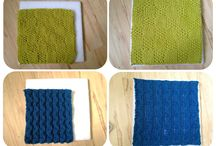 knit squares