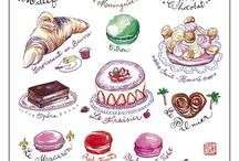 French pastry collection