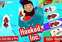 Hooked Inc: Fisher Tycoon Apk + Mod (Free shopping) for Android