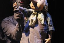 puppets and scenery
