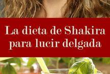 Dieta Shakira