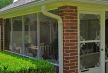 Verandahs and porches