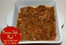 Crockpot meals / by Yolanda Kostelyk-Balderson