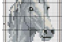 Diagramme C2C pour le crochet et broderie