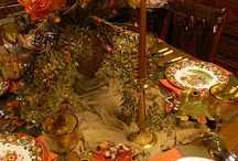 Thanksgiving Table Ideas / Thanksgiving table ideas, Thanksgiving tablescape, Thanksgiving Table decor