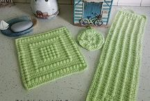 Crochet of Washcloths, Soap Covers and more / Free crochet patterns of Washcloths, soap holders etc.