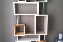 BIBLIOTHEQUE / cette bibliothèque a été réalisée entièrement à la main. Vous souhaitez un meuble dans cet esprit, n'hésitez pas à me contacter ou rendez-vous sur mon site : www.deuxieme-vie-meubles.