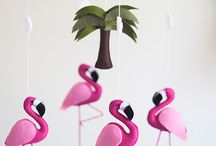 Flamingos da Cecília ❤