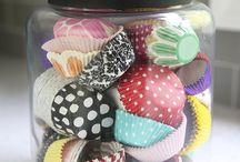 Cupcake liners / by Lynne Evans
