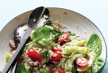 Salads and everything healthy