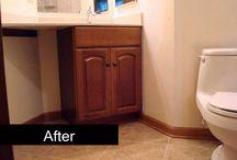 Small Bathrooms / Photos of small bathroom remodels.