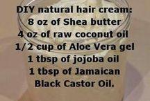 Traitment cheveux naturel