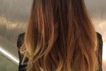 tie and dye / ombre hair