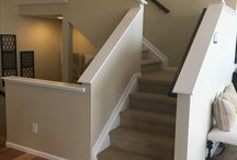 Half Wall Staircase Capping